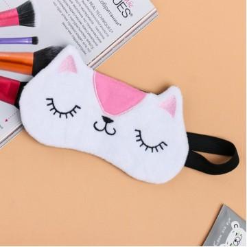 Текстильная маска для сна Кот