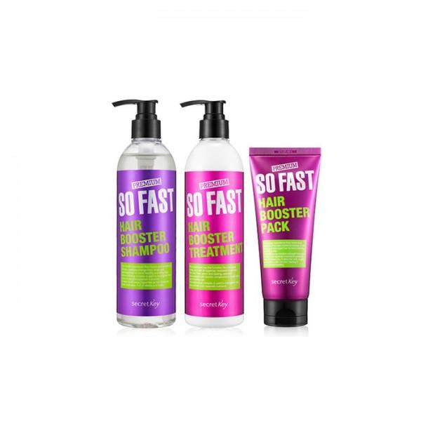 Набор Secret Key Premium So Fast Hair Booster