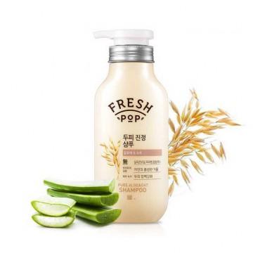 Шампунь с экстрактом алоэ и овса Fresh Pop Pure Aloe & Oat Shampoo 500ml
