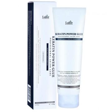 Сыворотка-клей для посеченных кончиков волос La'dor Keratin Power Glue (туба)