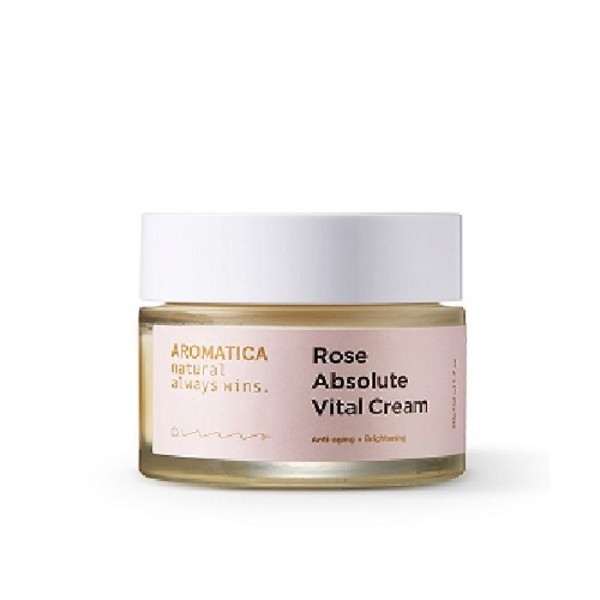 Крем для лица с экстрактом розы AROMATICA Rose Absolute Vital Cream
