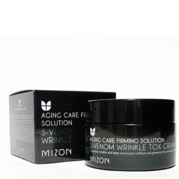 Антивозрастной крем со змеиным ядом с эффектом ботокса MIZON S-Venom Wrinkle Tox Cream