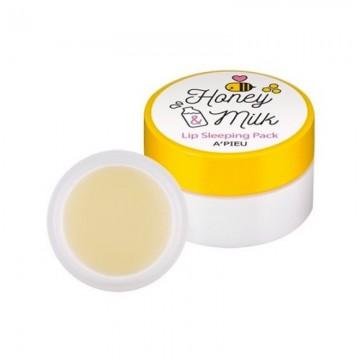 Ночная маска для губ A'Pieu Honey & Milk Lip Sleeping Pack
