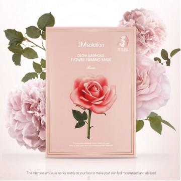 Увлажняющая маска с розой JMsolution Glow Luminous Flower Firming Mask Rose