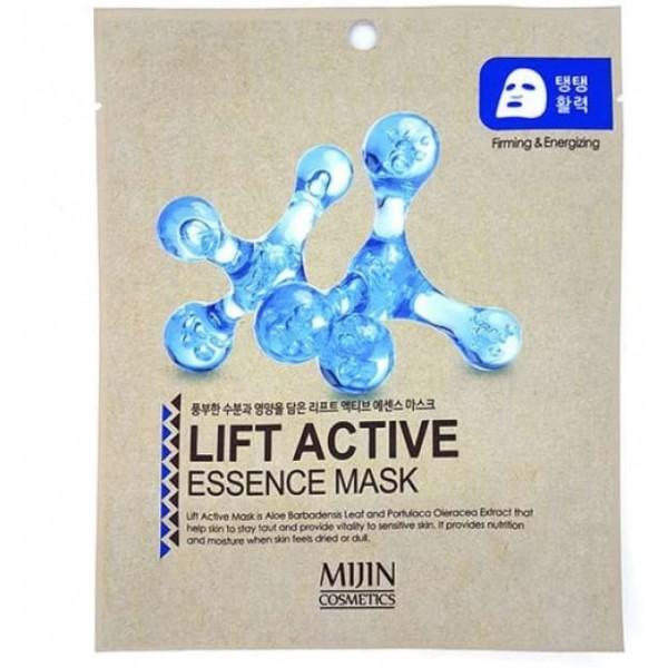 Маска для лица с эффектов лифтинга Mijin Lift Active Essence Mask
