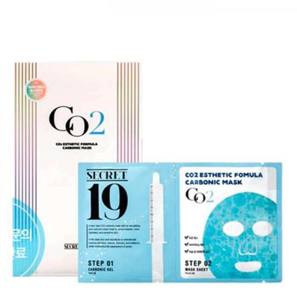 Маска для карбокситерапии Esthetic House CO2 Esthetic Formular Carboxy Mask Sheet