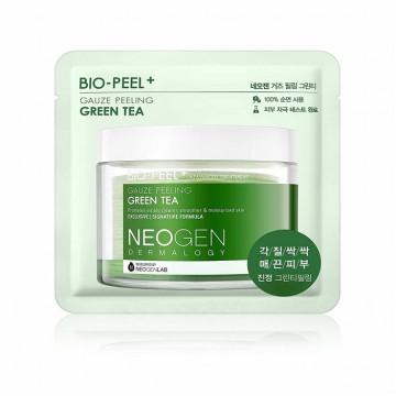 Пилинг-пэды с зелёным чаем Bio-peel Gauze Peeling Green Tea (1 шт)