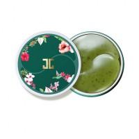 Патчи для глаз с лепестками зелёного чая Jayjun Green Tea Eye Gel Patch