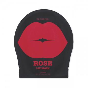 Kocostar Гидрогелевые патчи для губ ( Роза) Rose Lip Mask 1 шт.