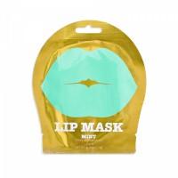 Kocostar Гидрогелевые патчи для губ с ароматом зеленого винограда и мяты Lip Mask Mint ( Green Grapes Flavor) 1 шт.