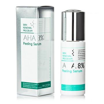 Сыворотка-пилинг Mizon Aha 8% Peeling Serum с фруктовыми кислотами