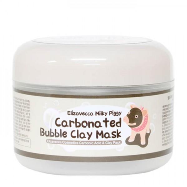 Маска для лица Elizavecca Сarbonate Bubble Clay Mask