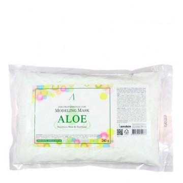 Альгинатная маска Anskin Aloe Modeling Mask (пакет)
